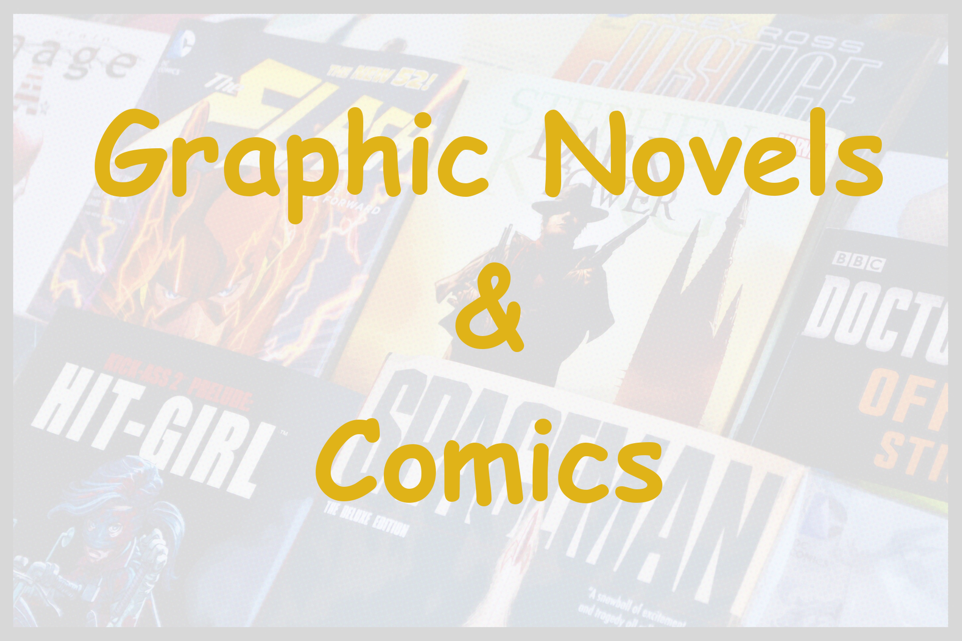 graphic novels comics