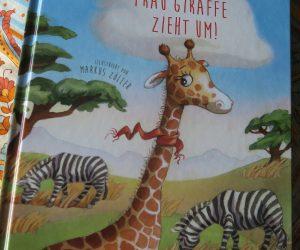 frau giraffe zieht um