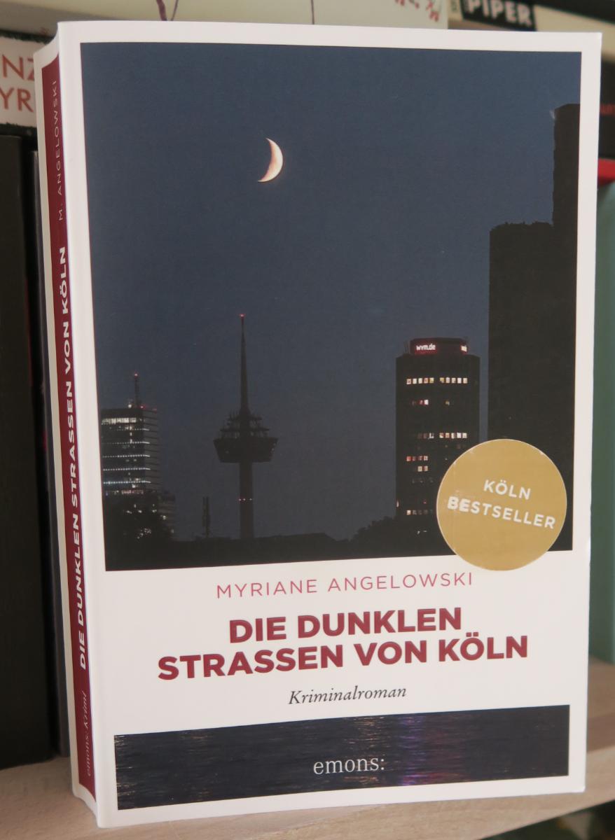 Buchcover Dunkle Straßen Köln