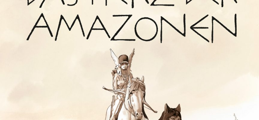 Buchcover Das Herz der Amazonen