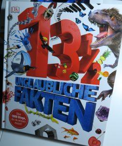 Buchcover 13 1/2 unglaubliche Fakten