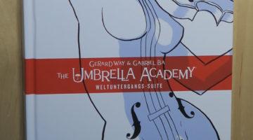 buchcover umbrealla academy