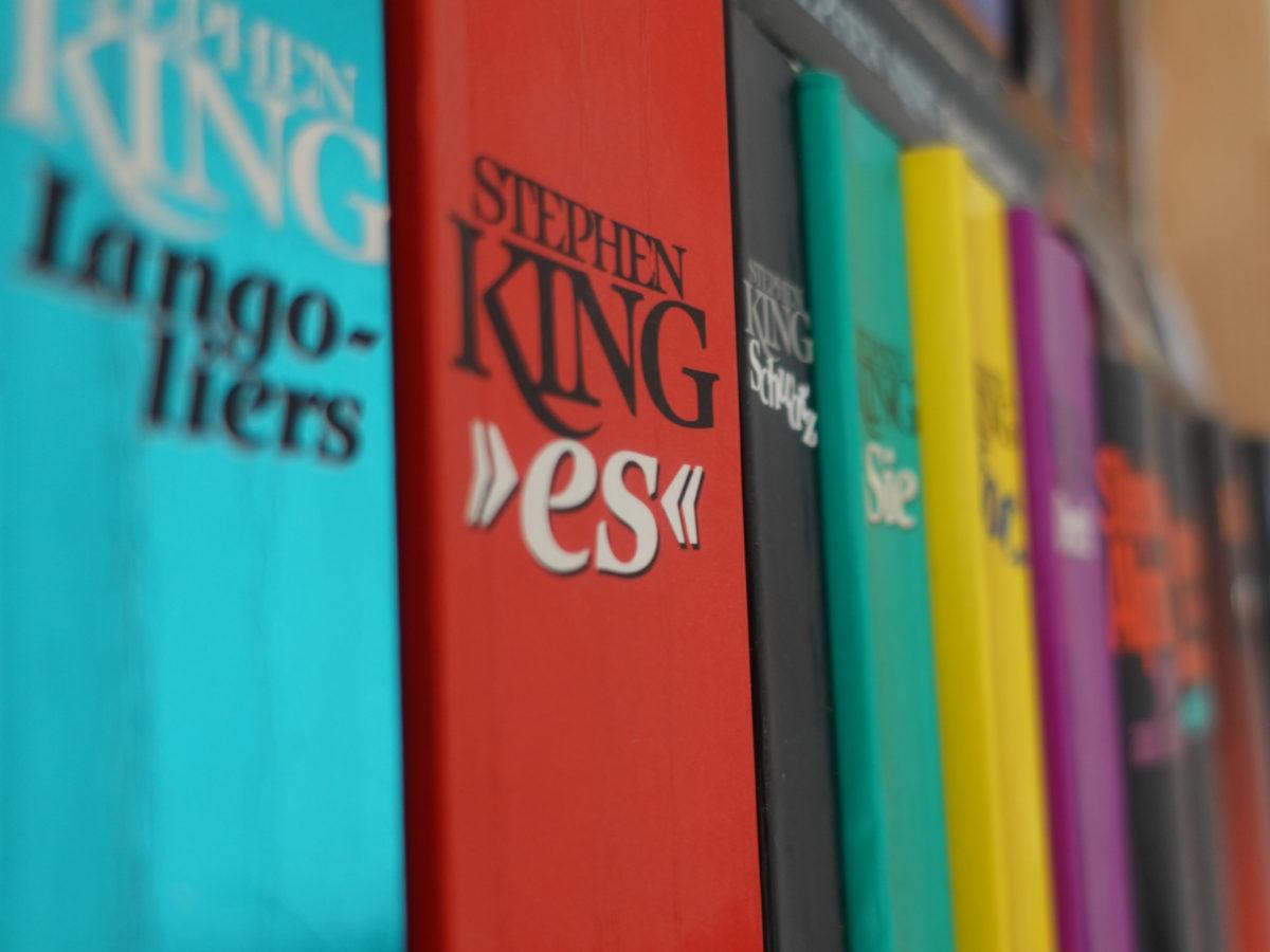 Bibliografie King und der Buechernarr
