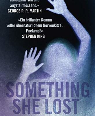 Buchcover zu Seomething she lost