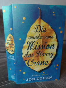 Buchcover wundersame mission harry crane