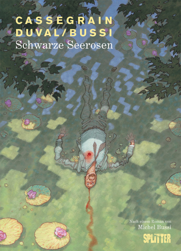 Cover Comic Schwarze Seerosen