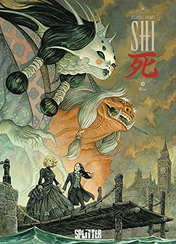 Buchcover SHI 3 Rache