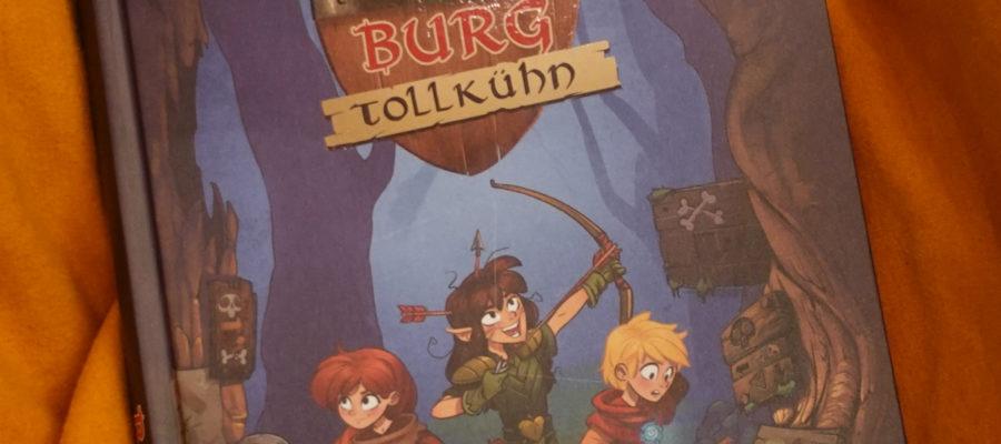 Buchcover Burg Tollkuehn