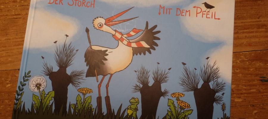 Buchcover der Storch mit dem Pfeil