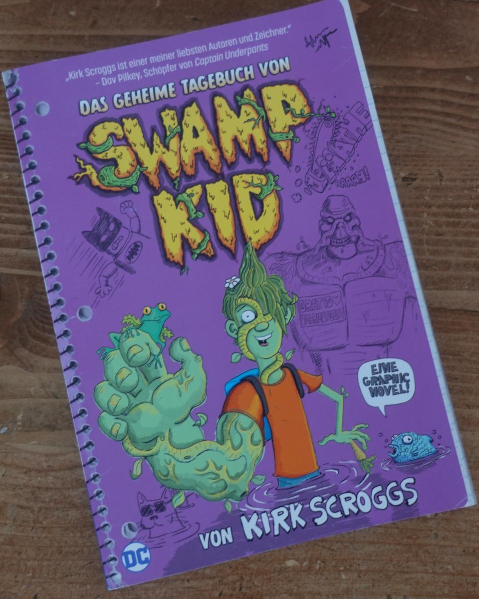 buchcover swamp kid
