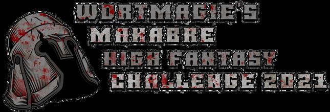 logo Wortmagie's makabre High Fantasy Challenge 2021