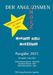 buchcover Anglizismen-Index